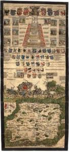Klaudyánova mapa Čech