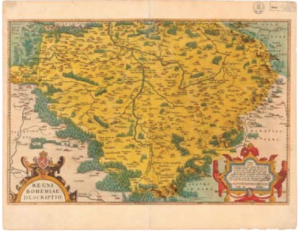 Crigingerova mapa Čech - kopie