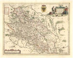 Scultetova mapa Slezska