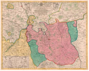 Nigrinova mapa Těšínska