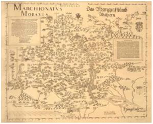 Fabriciova mapa Moravy