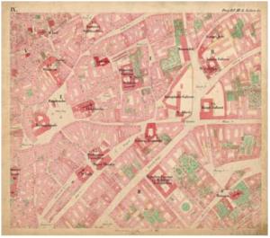 Originální mapa Stabilního katastru