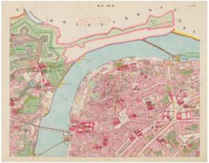 Císařský povinný otisk mapy Stabilního katastru