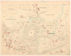 Katastrální mapa evidenční