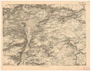 Topografická sekce III. vojenského mapování - původní