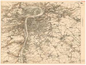 Topografická sekce III. vojenského mapování - reambulovaná