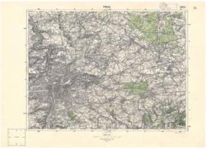 Speciální mapa III. vojenského mapování