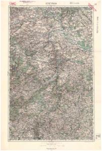 Generální mapa III. vojenského mapování - původní