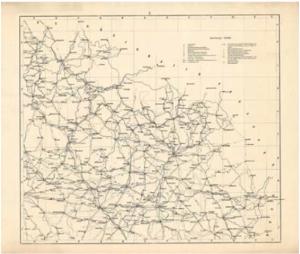 Pochodová mapa Království českého