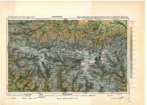Kořistkova mapa Krkonoš
