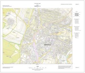 Státní mapa 1 : 5000
