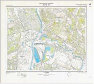 Základní mapa ČSSR 1 : 10 000