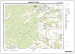 Základní mapa ČR v měřítku 1 : 25 000