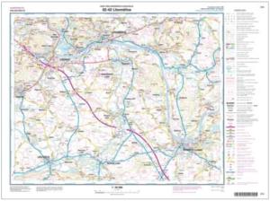 Silniční mapa České republiky v měřítku 1 : 50 000
