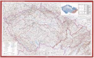 Mapa vyšších geomorfologických jednotek ČR 1 : 500 000