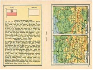 Atlasová mapa Polska