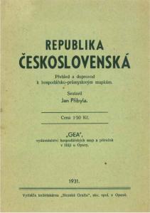 Obr. 22: Průvodce k mapám z roku 1931 (archiv autora)